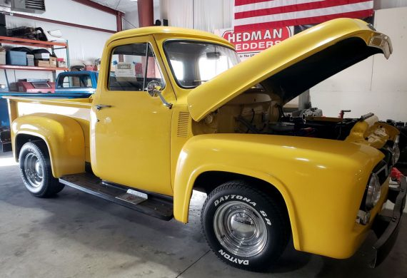 1955 F100 Full Restoration and Performance Upgrades at Countryside Classics in Elkhorn, WI